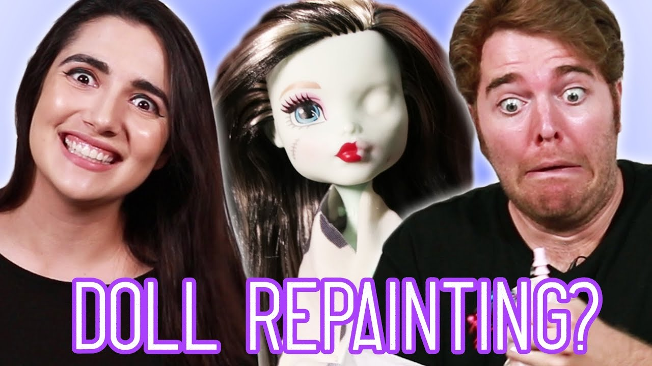 Giving Dolls Tiny Makeovers Feat Shane Dawson