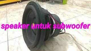 Speaker subwoofer harga mblenger
