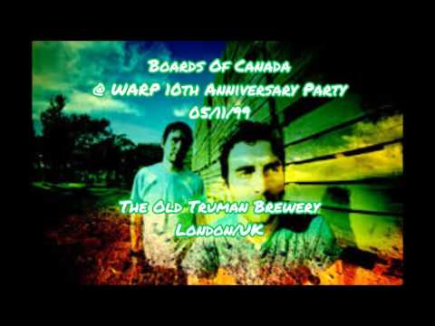 Boards Of Canada Live @ WARP 10th Anniversary Party 05/11/99