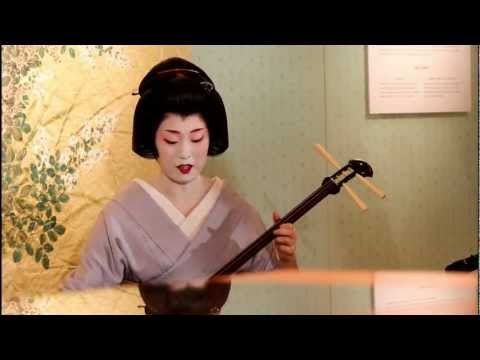 Geisha in Kyoto Pop-Up Party, Omotesando Tokyo 【HD】