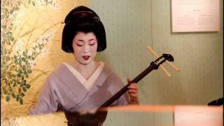 Geisha in Kyoto Pop-Up Party, Omotesando Tokyo 【HD】