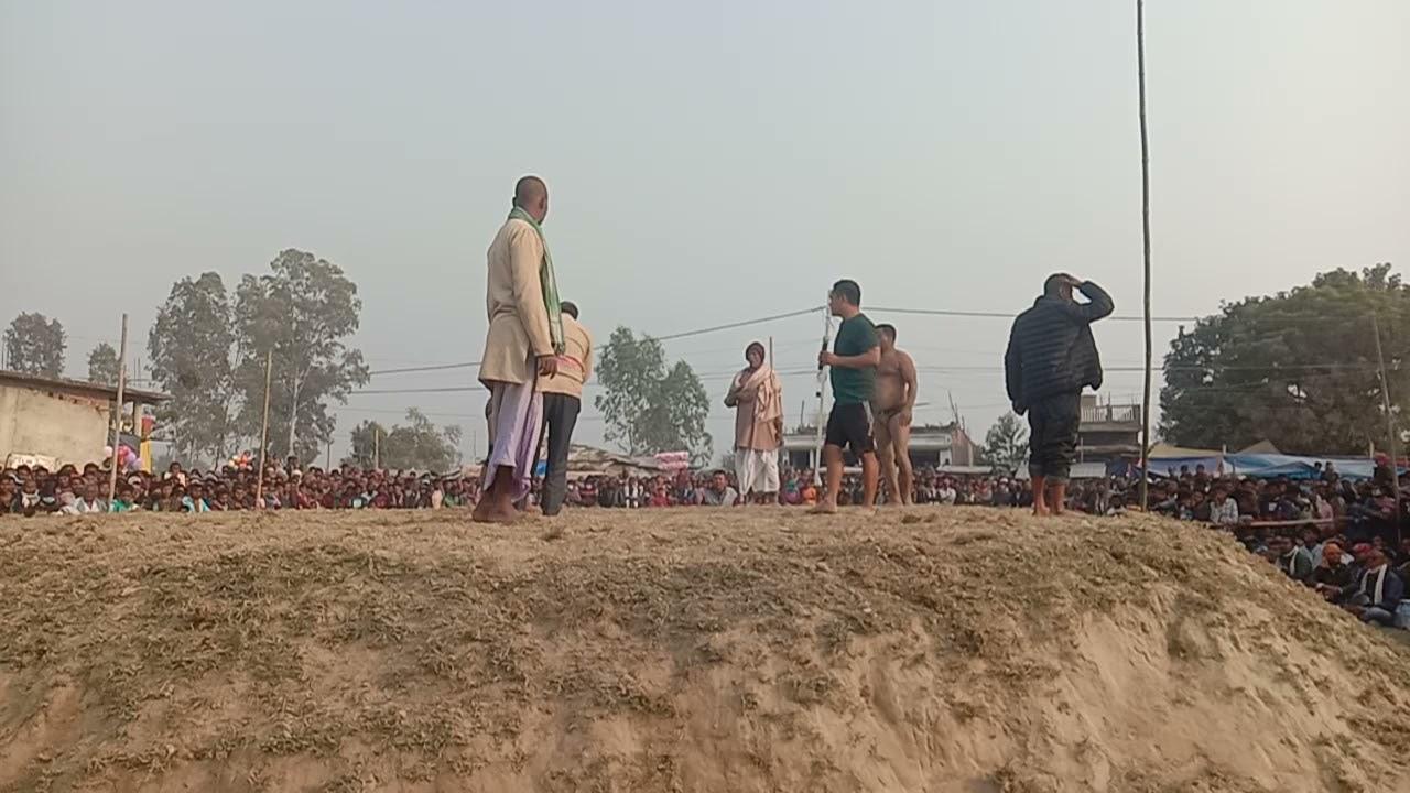 basant thapa v/s veera rajastan | Rk productions mirchaiya