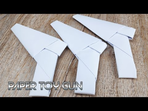 DIY Paper Weapons Toy | How to Make Paper Craft Gun Tutorials | Easy Origami for Kids
