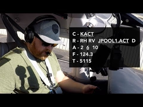 Download IFR Clearance (With ATC Audio) - Tips for Speed and Confidence