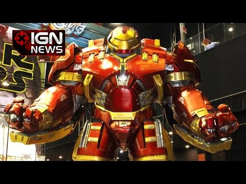 Life-Size Hulkbuster Armor Spotted in Hong Kong - IGN News