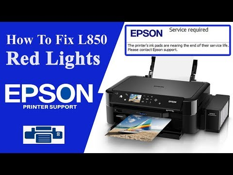Epson ink pad is at the end of its service life error message
