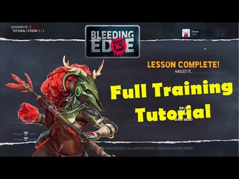 Bleeding Edge Full Training Tutorial Gameplay from YouTube · Duration:  20 minutes 37 seconds