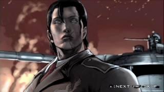 Tekken: Dark Resurrection (PSP) Story Battle as Dragunov