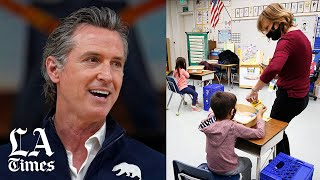 Newsom and legislators strike deal to offer schools $2 billion in incentives to reopen campuses soon
