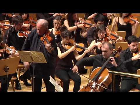 Brahms - Doble concierto violín, violonchelo y orquesta, OSCSMA, Juan Luis Martínez (1/3)
