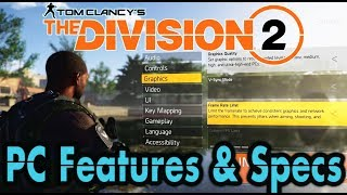PC Features & PC Requirements Overview!! 🞔 No Commentary 🞔 The Division 2