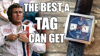 TAG Heuer Monaco Calibre 11 Automatic Chronograph Watch Review (CAW211P) - Perth WAtch #183