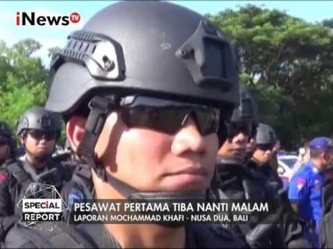 Laporan Terbaru Pengamanan Nusa Dua, Bali Jelang Kedatangan Raja Salman - Special Report 03/03