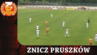 Skrót meczu ZNICZ Pruszków - GÓRNIK Zabrze (21.05.2017)