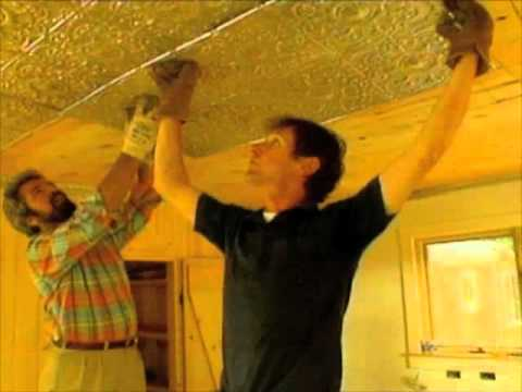 Installing A Tin Ceiling Bob Vila