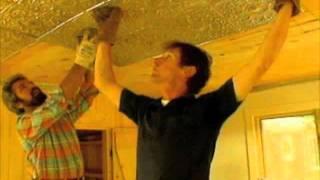 Installing a Tin Ceiling - Bob Vila