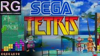 Sega Tetris - Sega Dreamcast - Intro, arcade and versus mode gameplay [HD 1080p 60fps]