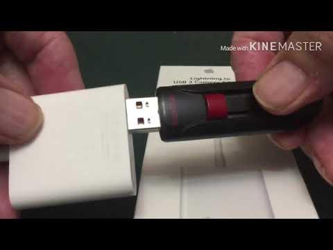 How To Use USB Drives With IPAD Mini And IPhone IPADOS 13 IOS 13