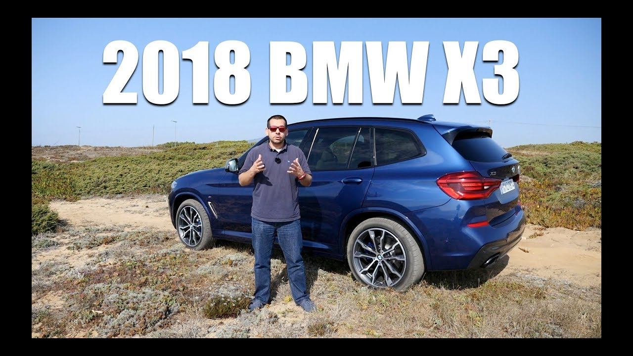 2018 BMW X3 G01 (ENG) – Test Drive and Review