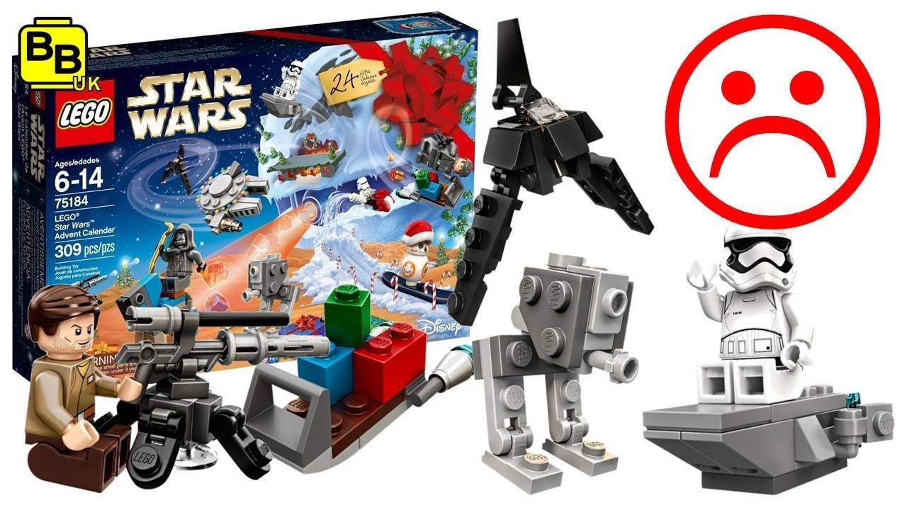 joulukalenteri star wars 2018 OUR THOUGHTS ON THE 2017 LEGO STAR WARS 75184 ADVENT CALENDAR  joulukalenteri star wars 2018