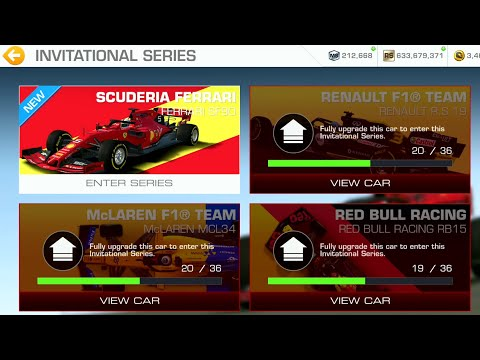 Real Racing 3 Scuderia Ferrari Invitational Series - Endurance Race