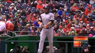 2016/4/10 MLB.TV Game of the Day Miami Marlins VS Washington Nationals (馬林魚 VS 國民)
