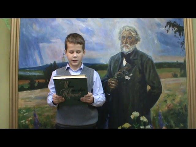 Изображение предпросмотра прочтения – ДенисАндросов читает произведение «Стихотворения в прозе. Воробей.» И.С.Тургенева
