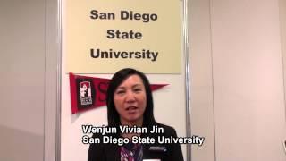 San Diego State University - Wenjun Vivian Jin