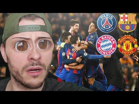 Die größten Fußball Comebacks der Champions League! - Sumas