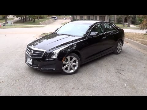 2014 Cadillac ATS Base Tour & Test Drive - YouTube