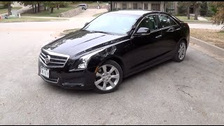 2014 Cadillac ATS Base Tour & Test Drive