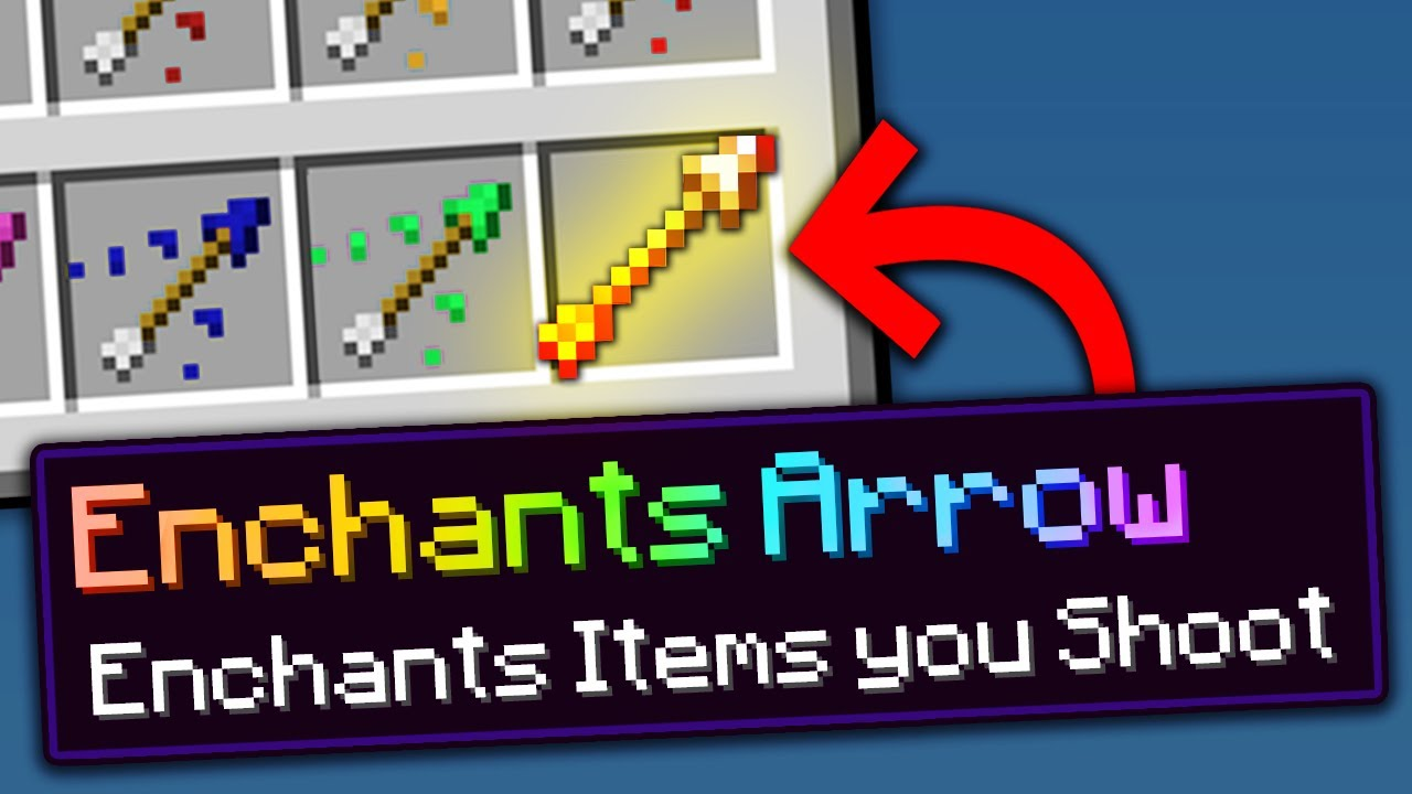 Minecraft, But There Are Custom Arrows...