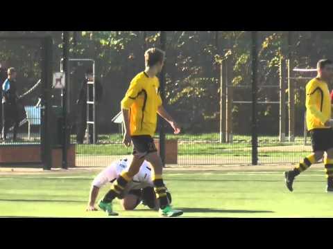 SC Borussia Friedrichsfelde II - SF Charlottenburg Wilmersdorf II - Spielszenen | SPREEKICK.TV