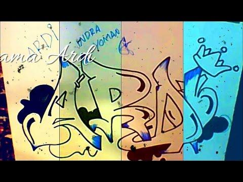 grafiti nama