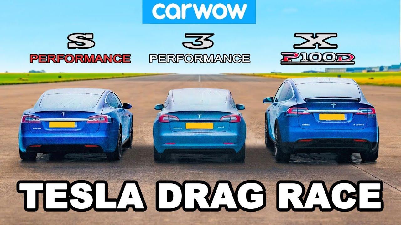 Model S vs 3 vs X - Tesla Performance ...