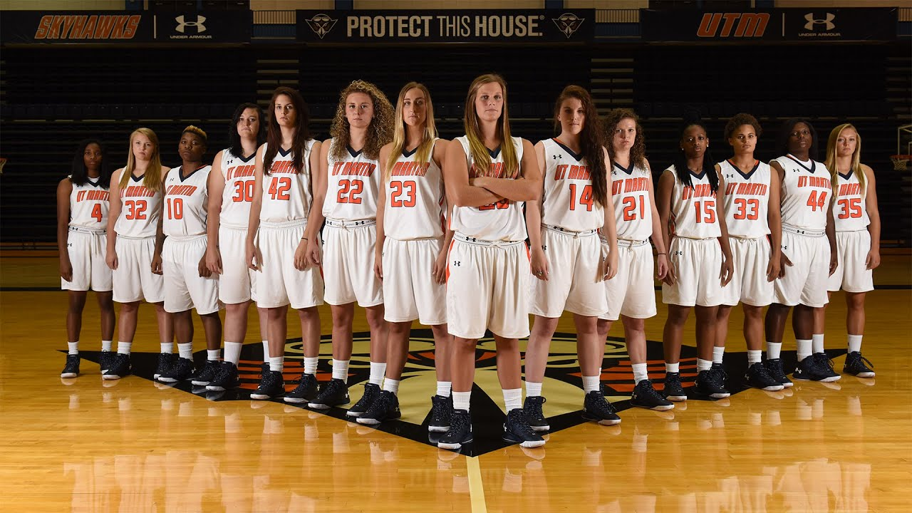 2015 16 UT Martin Women's Basketball intro video | Doovi