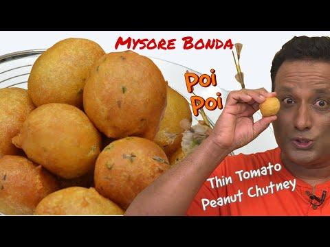 Mysore Bonda Recipe – Make  Instant Mysore Bajji Recipe at Home -Street Food Style – Breakfast ideas