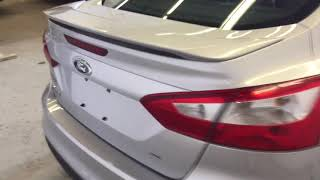 SILVER 2012 Ford Focus SE Review Sherwood Park Alberta - Park Mazda