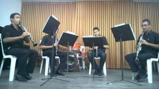 Garota de Ipanema - Quarteto para Clarinetes
