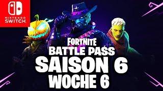 🔴 GEHEIMER Battle Pass Banner & SEASON 6 Challenge Week 6 | Fortnite Switch
