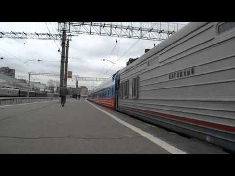 отправление электровоза эп2к с поездом №2 москва владивосток