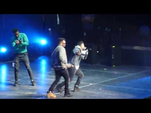 """Omarion LIVE Big Jam 2015 - Intro and """"'I'm Up"""""""
