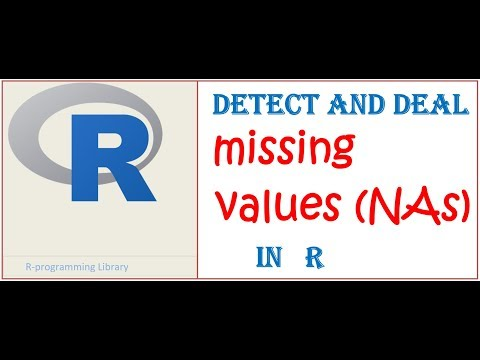 Missing Values In R || Replacing Missing Values (NAs) With Mean In Data Frame