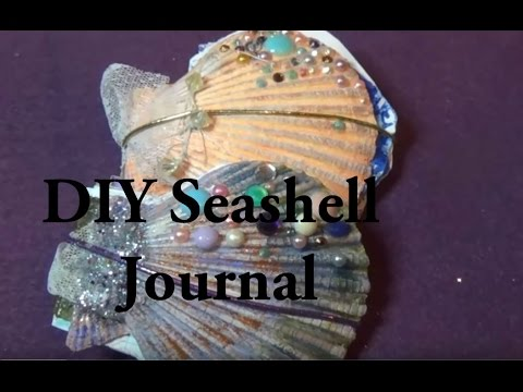 How to Make a Book with Sea Shells