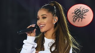 Video Ariana Grande & Crew Get Matching Tattoos To Honor Manchester Bombing Victims download MP3, 3GP, MP4, WEBM, AVI, FLV November 2017
