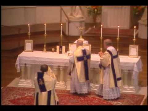 Solemn High Mass, Birmingham, Alabama clip02