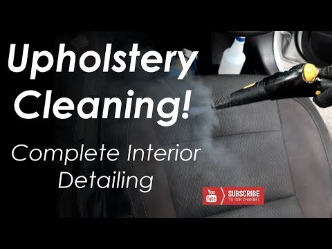 Interior Detailing Service And Exterior Cleaning -- Toyota Corolla