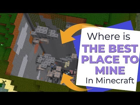 The BEST Place To Mine In Minecraft: Which Biomes Give The Most Ores Avomance 2019