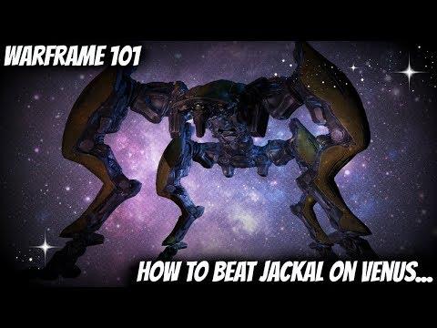 Warframe 101 - How to Beat the Jackal on Venus (Rhino Warframe Farm)