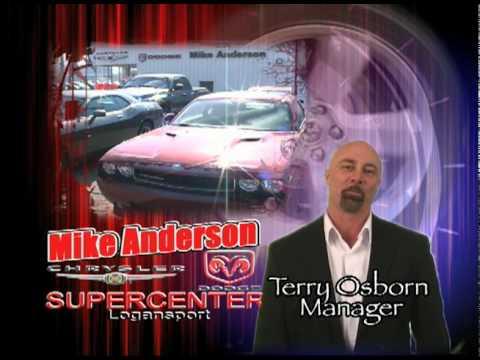 Mike Anderson Chrysler Dodge Supercenter In Logansport Indiana